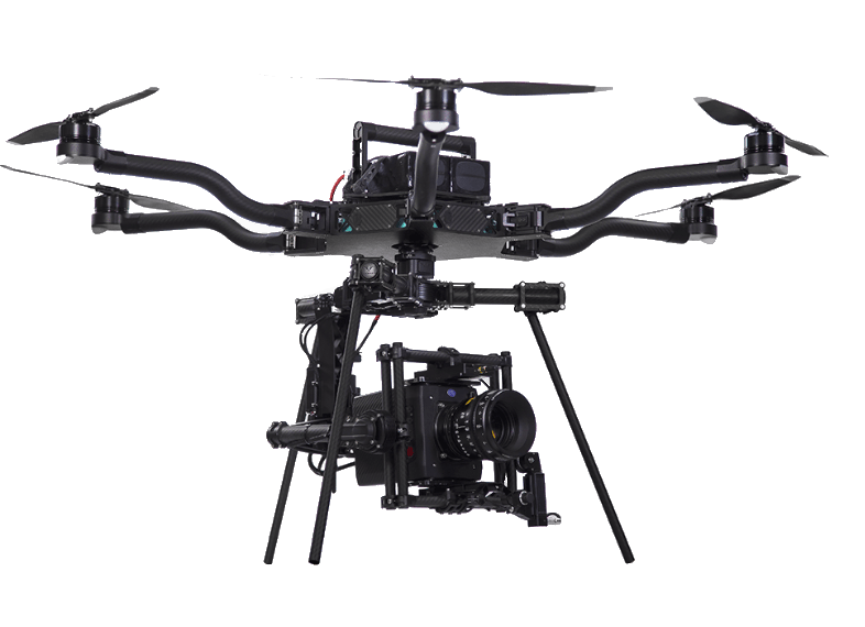 Drone Red Epic, Drones