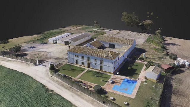 levantamiento 3d con drones